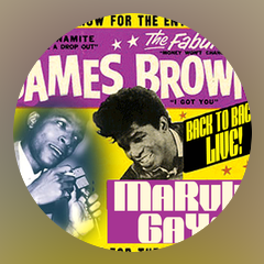 James Brown, Marvin Gaye