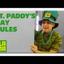 Let's Set some rules for St. Patty's Day!