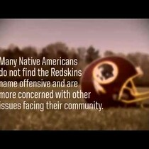 Washington Redskins - Some Indians Not Offended