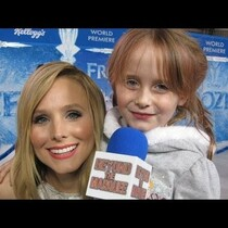 Amazing 5 year old interviewer Lindalee at the Frozen premiere