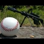 .50 Cal vs. Baseball