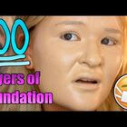 Ever Wonder What 100 Layers Of Foundation Looks Like?