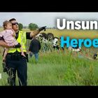 Cop didn't know he was on camera & what he did for this girl is truly remarkable!