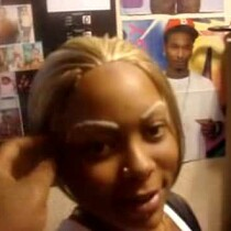 EYEBROW WEAVE! It......is.........real.