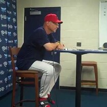 VIDEO: Terry Francona after 11-3 loss to Rays