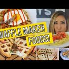 Cooking With Your Waffle Iron