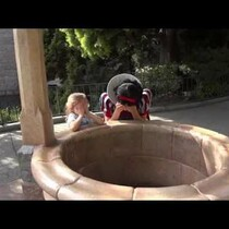 WATCH: Little Girl's Dream Comes True at Wishing Well in Disneyland