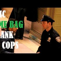 Guy pranks NYC cops...