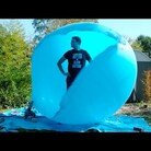 Popping a 6ft Balloon in Slow Motion
