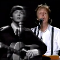 WATCH: PAUL MCCARTNEY 1965-2011 COMPARISON (use headphones)