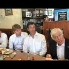90 Yr Old Dick Van Dyke Sings in a Dennys!