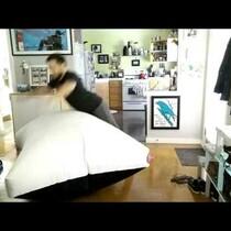 LA Based Artist Creates World's Largest Whoopee Cushion