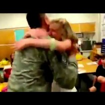Soldiers Reunite With Their Families