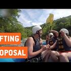 White Water Proposal Turns To Panic