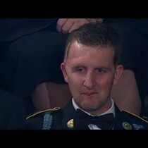 Great Moment! American Hero honored during State of the Union