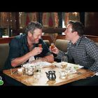 Fallon makes Blake Shelton eat sushi for the first time
