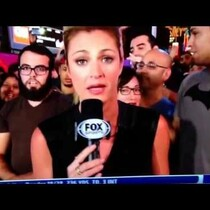 Creepy Guy Paralyzed by the Presence of Erin Andrews