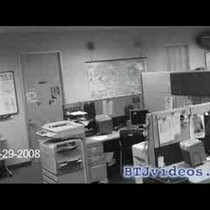 OMG!! Security cam footage caught ME almost falling during the earthquake!