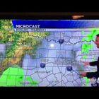 WATCH:  Woops! Weatherman Slips...