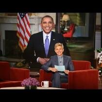 Pres. Barack Obama on Ellen(Video)