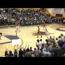 4-Foot-1 High School Player/Coach Plays Basketball On Senior Night... And Scores!