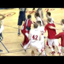 Sacred Heart beats buzzer with circus shot to win regional title