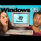 WATCH: Teens react to Windows 95