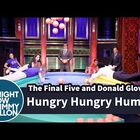 'Hungry Hungry Humans' with the Final Five on Fallon!