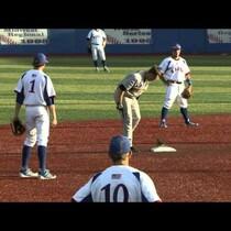 Rogue Squirrel Runs the Bases at Kansas-Wichita State Baseball
