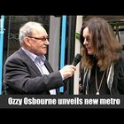 [Watch] Ozzy Osbourne Gets Tram Named After Him
