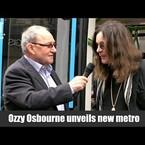 [Watch] Ozzy Osbourne Gets Tram Named After Him