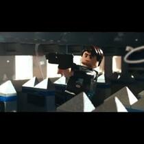 Liam Neeson in Legos