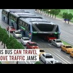 VIRAL: New Elevated Bus Can Travel OVER Traffic Jams!
