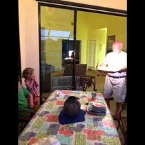 Here's How NOT to Light Your Kid's Birthday Cake!
