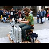 WATCH: Awesome Pipe Guy Covers 'Fancy,' 'Seven Nation Army' With Flip Flops