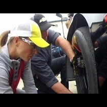 WATCH NASCAR's 1st FEMALE PIT CREW MEMBER!