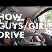 WATCH: How Guys Drive Vs How Girls Drive