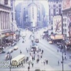 Watch Rare Color Film Of Times Square In 1945