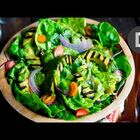 Epic Green Goddess Grilled Avocado Salad