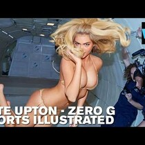 Kate Upton - S.I. Zero G Photo Shoot!