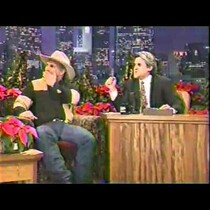 Garth first time on The Tonight Show with Jay Leno and farewell performance...