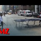 VIDEO: Usher Stops Traffic in NY for This?!