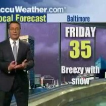 WATCH:  Meteorologist Freaks Out; Impending Doom!