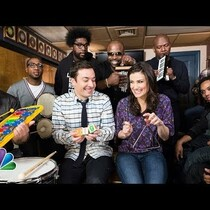 WATCH: Jimmy Fallon, Idina Menzel & The Roots Sing