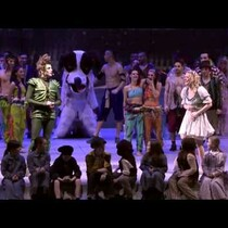Peter Pan Proposes To Wendy On Stage
