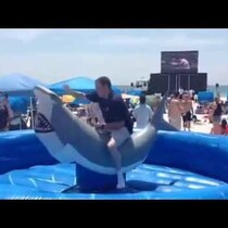 VIDEO: Neil Solondz Takes On A Shark!