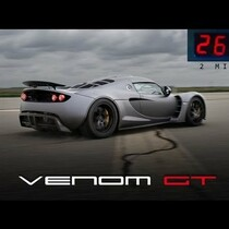 Watch: 0 to 265.7 MPH in 2 Miles
