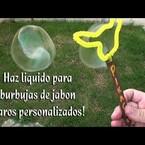Paraque hagas burbujas con tus hijos..!