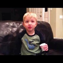 VIDEO: A little boy shares ALL the bad words he knows. And it's precious, except for…well...