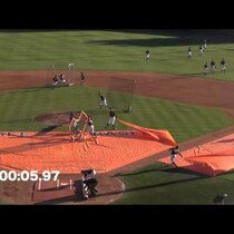 WATCH: The nation's fastest field cleanup